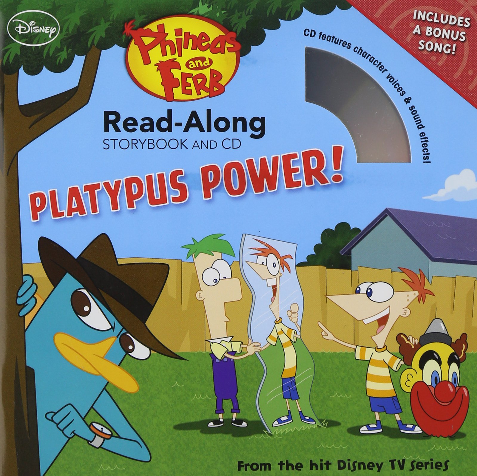 Phineas Ferb Read Along Storybook CD product image