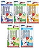 Ciao Churu Lickable Puree Creamy Cat Treat 5 Flavor Variety Pack