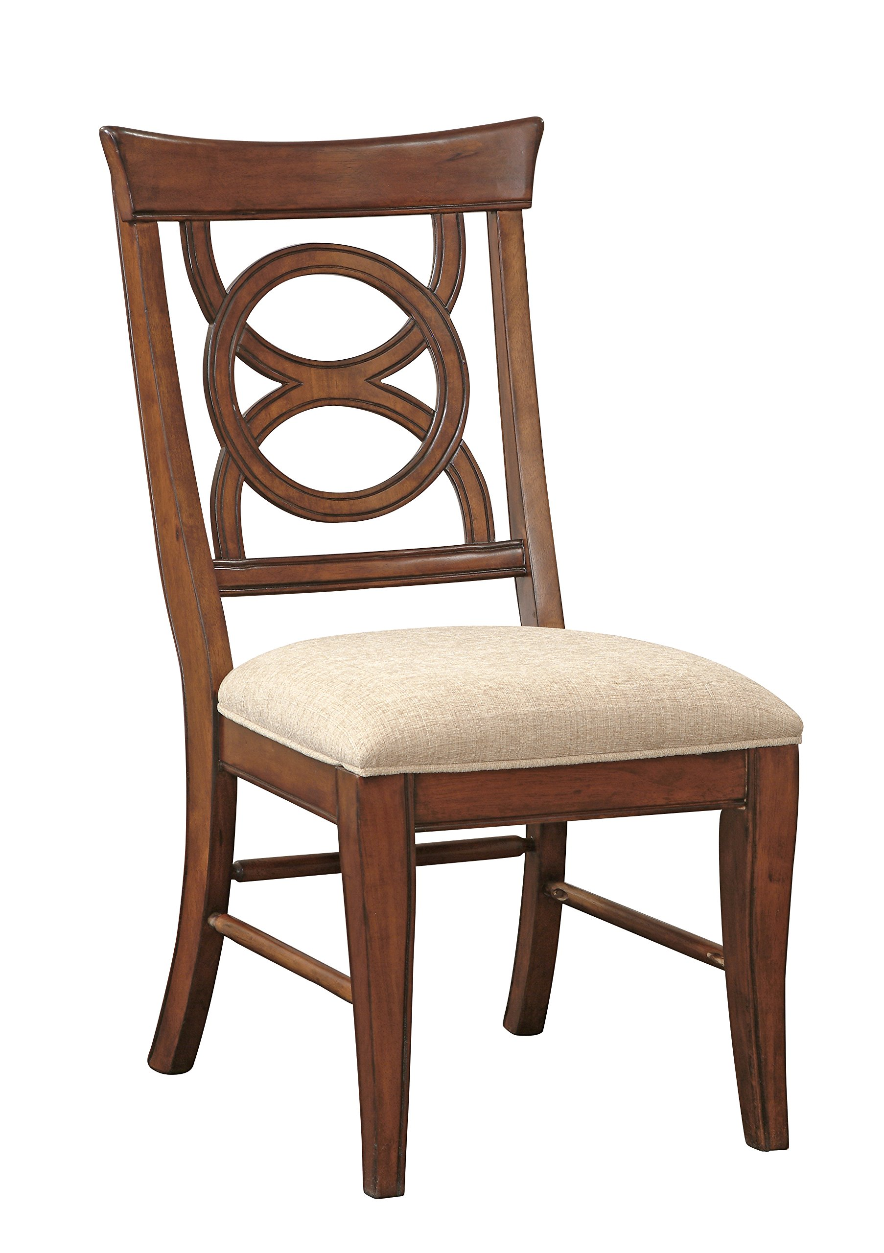 Orion Collection Side Chair (Set of 2), Cherry