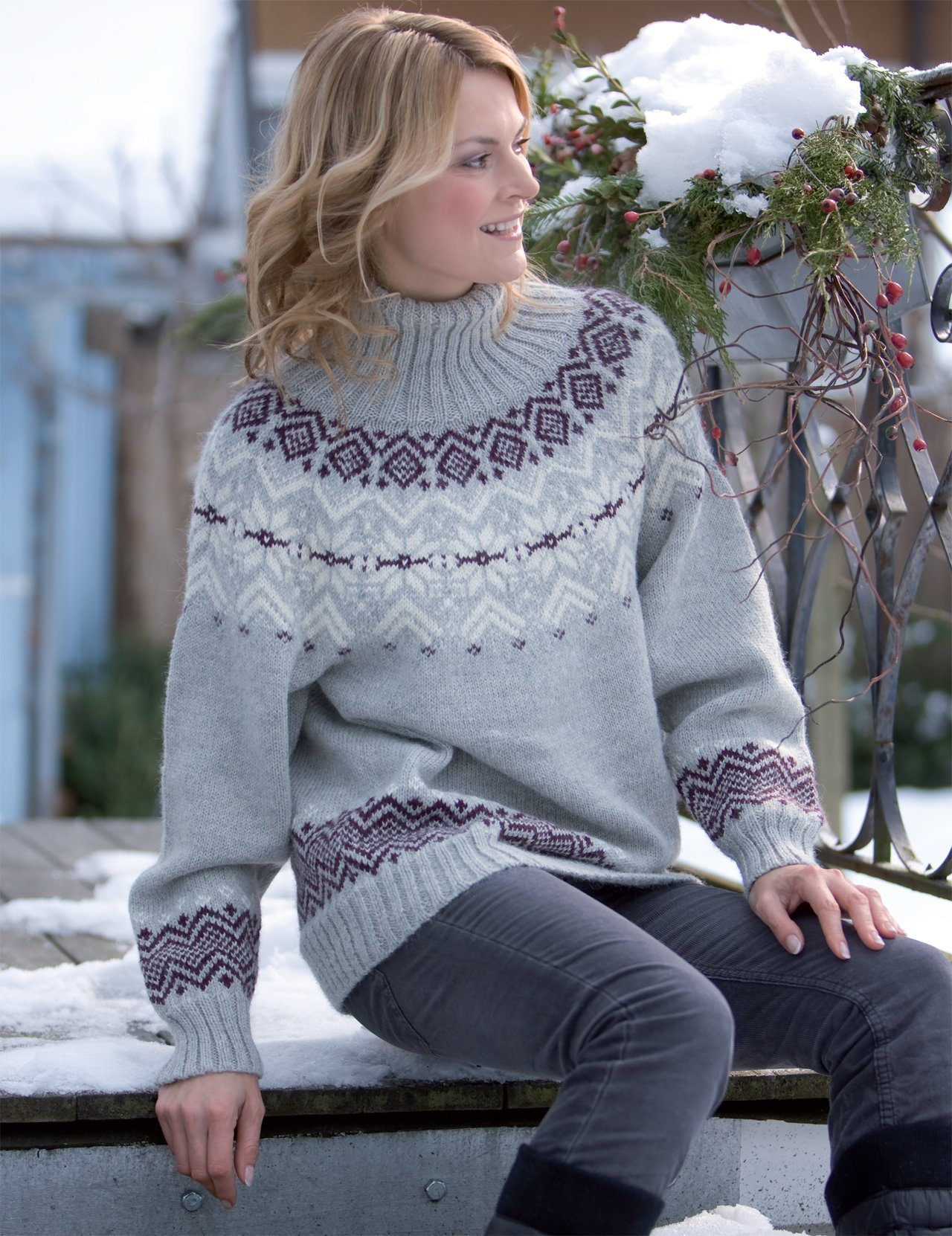 Knitting The Chill Away 39 Cozy Patterns For The Whole Family