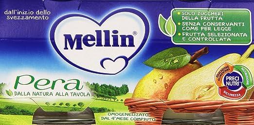 11 opinioni per Mellin- Omogeneizzato, Pera- 200 grams