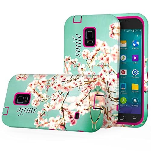 S5 Case, MOOST Hybrid Dual Layer Protective (Plastic Hard Shell and Fexible TPU) Shock-Absorption / Impact...