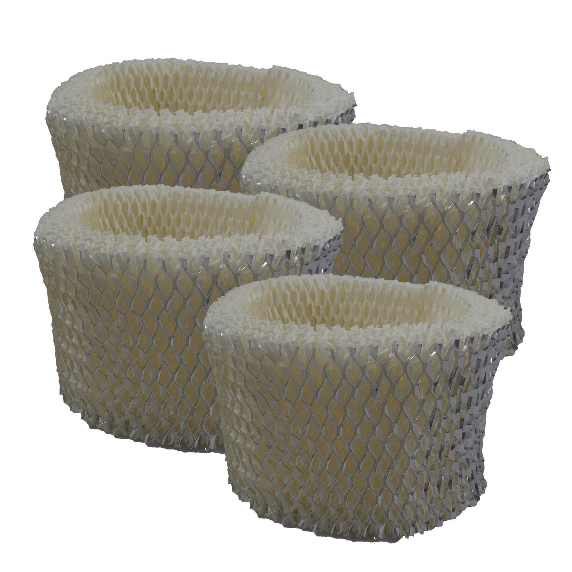 Air Filter Factory 4-PACK Compatible Replacement For Holmes HM2025, HM2030, HM1230, HM1275, HM1280, HM1281, HM1285 Humidifier Filter