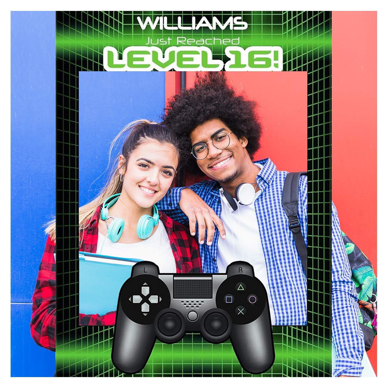 Video Game Gaming Console Kids Birthday Party Gathering Photo Booth Cutout Prop; 1001191