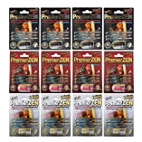 PremierZen 12 Pack Variety - Male Performance Enhancement Pill - Plus, Extreme, Platinum