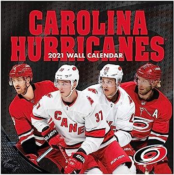 Amazon Com Turner Sports Carolina Hurricanes 2021 12x12 Team Wall Calendar 21998011935 Office Products
