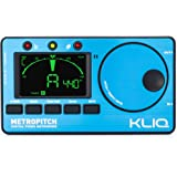 KLIQ MetroPitch - Metronome Tuner for All Instruments - with Guitar, Bass, Violin, Ukulele, and Chromatic Tuning Modes - Tone