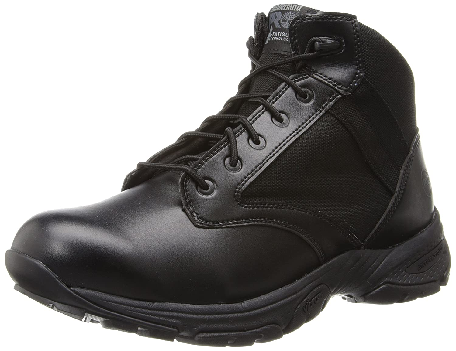Timberland PRO メンズ B00HMY68K8 13 D(M) US|Black Smooth With Textile Black Smooth With Textile 13 D(M) US
