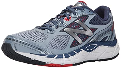 9eaf4e3846584 Image Unavailable. Image not available for. Color: New Balance Men's M840V3 Run  Shoe-M, Grey/Red 8.5 D US