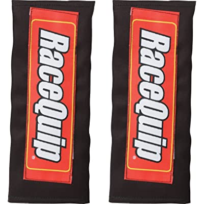 """RaceQuip 767001 Black Safety Harness Pad for 2"""" and 3"""" Belt - Pair: Automotive"""