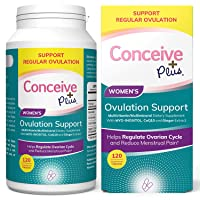 CONCEIVE PLUS Myo-Inositol & D-Chiro Inositol | 30-Day Supply | Optimal 40:1 Ratio | Folic Acid | PCOS | Healthy Hormone Balance & Ovarian Support for Women Supplement (120 Capsules)