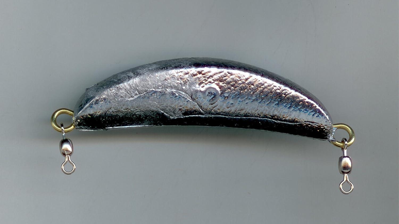 経典ブランド 3オンスCrescent Sinkers # with # 1真鍮Eye & # 7 CRANE SWIVEL B00EBM7C5O SWIVEL – 10 1パック B00EBM7C5O, イワセムラ:d890fc70 --- a0267596.xsph.ru