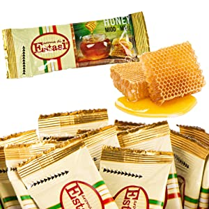 Premium Honey Single Serve Sticks Packets On The Go 400 counts Foodservice Individual Wildflower Bulk Lunch Box Beverage Tea Coffee Value Pack