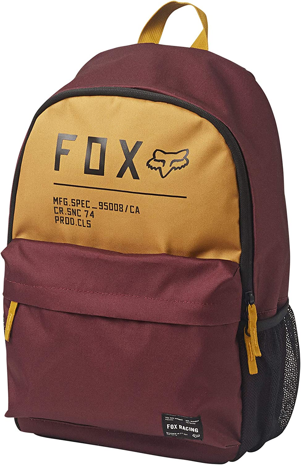 Fox Racing Men's Non Stop Legacy Backpacks,One Size,Cranberry