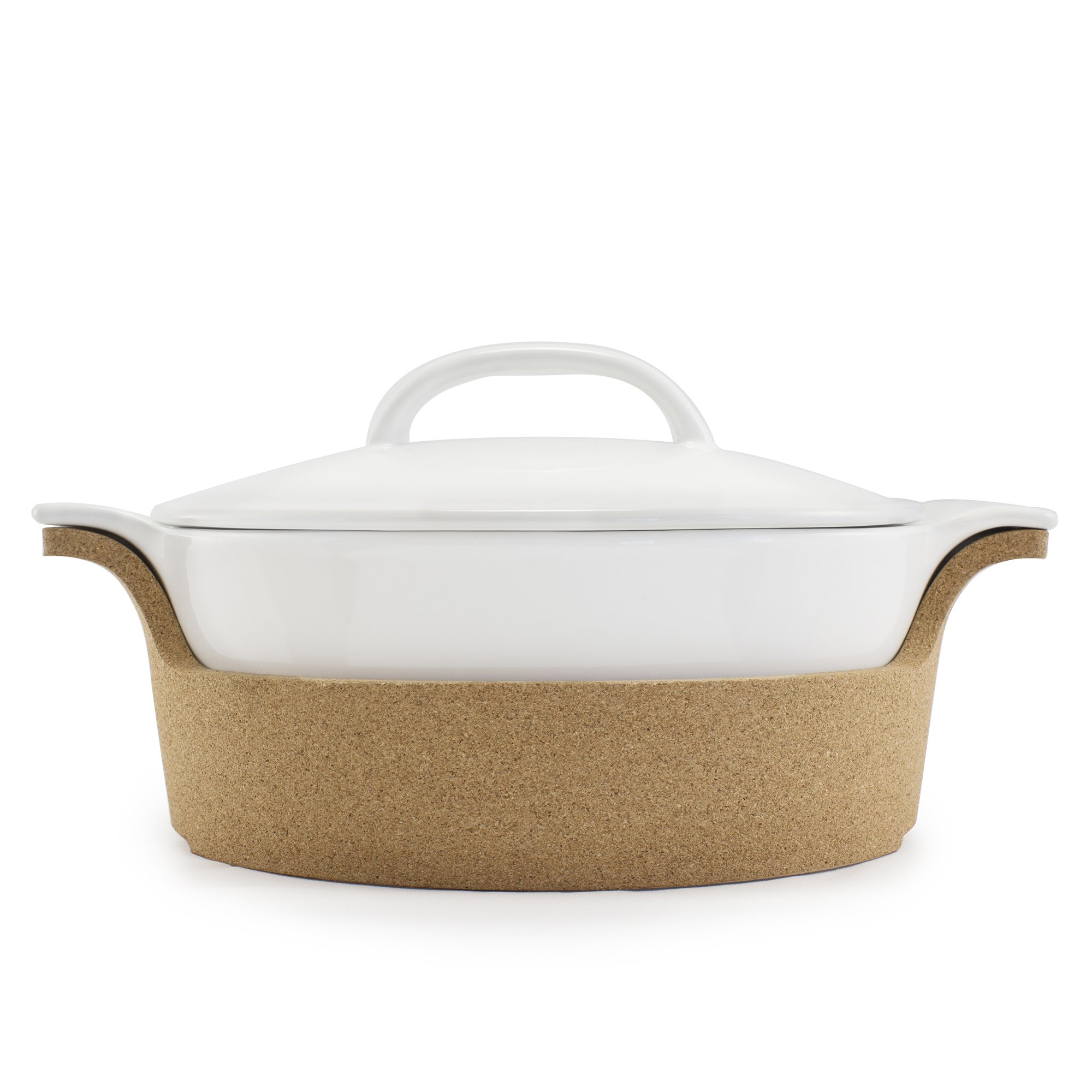 Bambeco Ensemble Covered Casserole Baker with Cork Tray