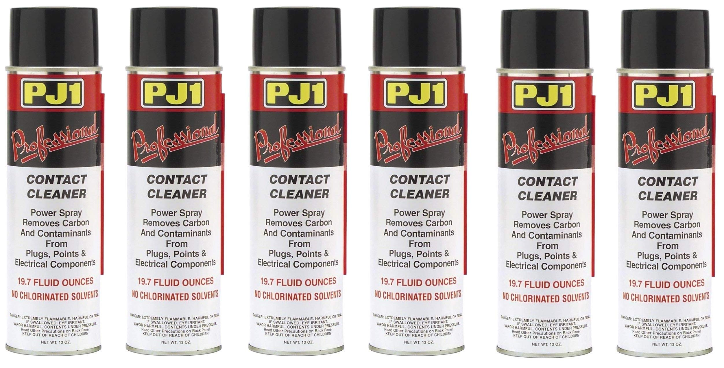 PJ1 40-3-1 Pro Contact Cleaner (Aerosol), 13 oz (13 oz (Pack of 6))
