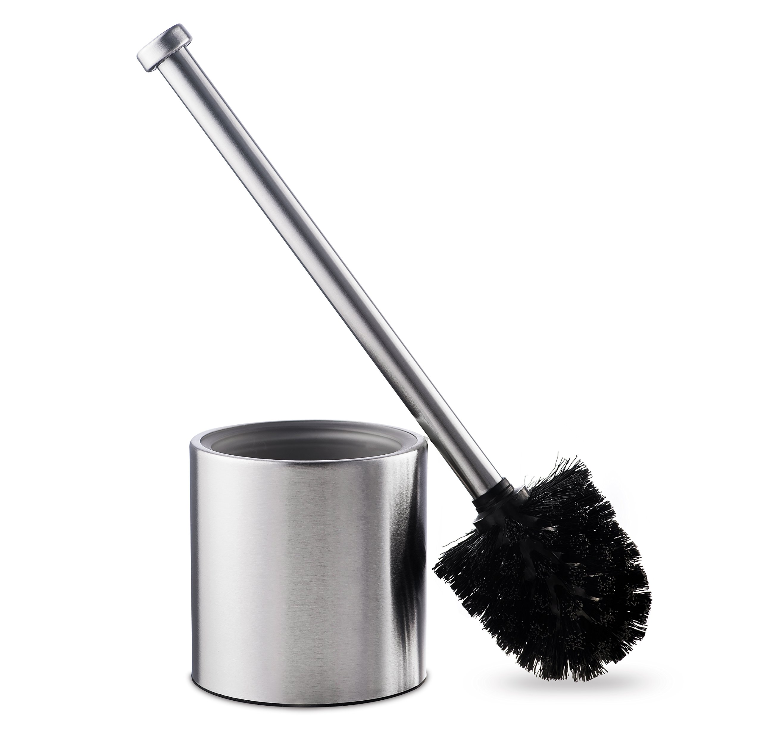 AMG and Enchante Accessories, Toilet Brush and Holder, TB116A SNI, Satin Nickel