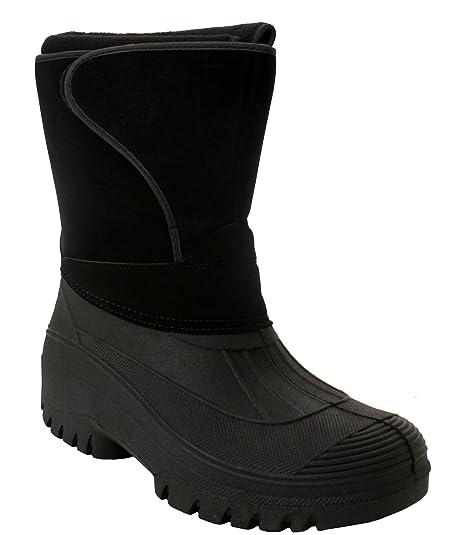 Groundwork - Stivali da Neve uomo , nero (Black), 40