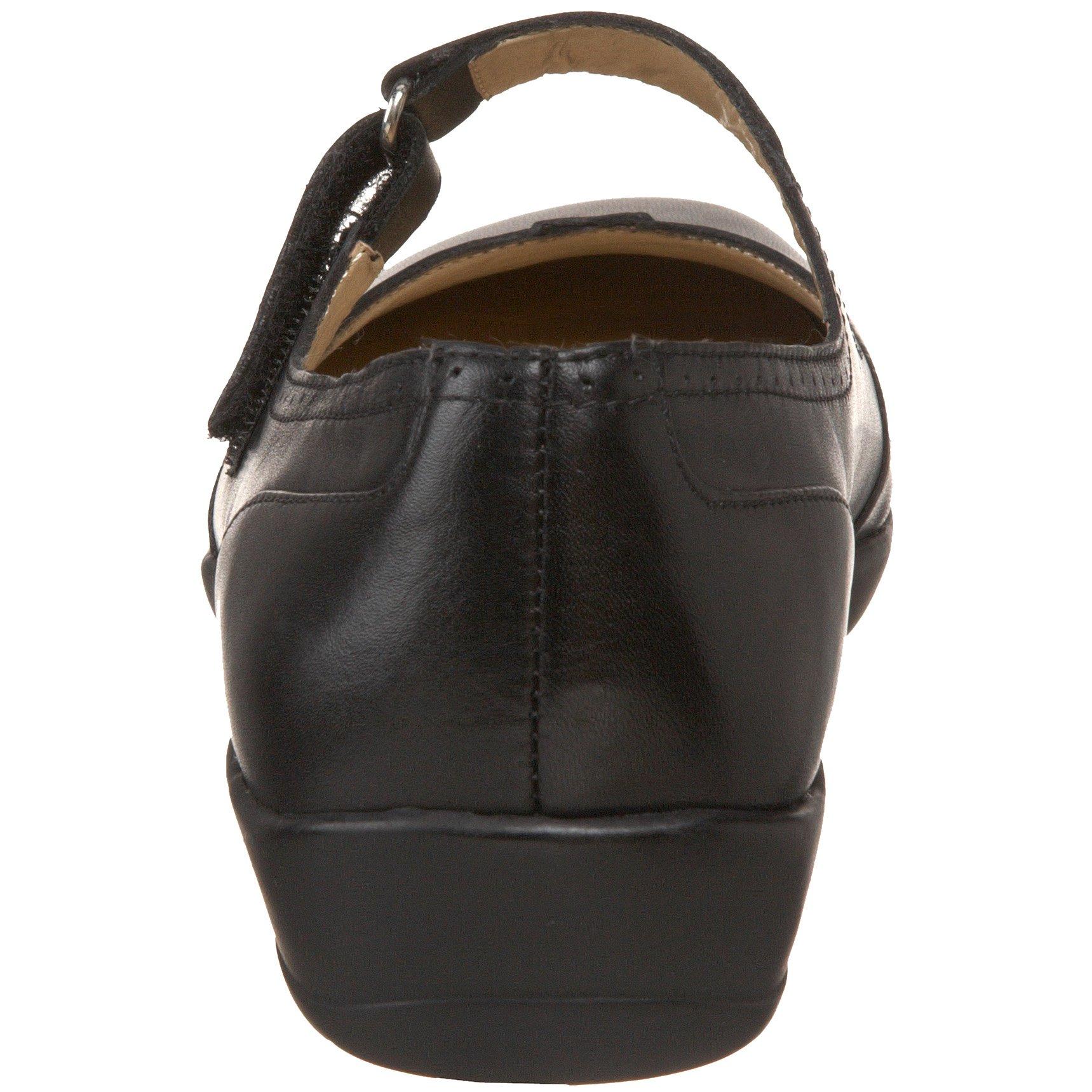Drew Shoe Women's Isabel Mary Jane,Black Leather,6 W US by Drew Shoe (Image #2)