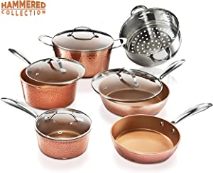 Gotham Steel Pots and Pans Set – Premium Ceramic Cookware
