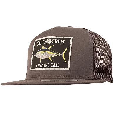 9f150870e01 Salty Crew Men s Ahi Patched Trucker Hat - Grey -  Amazon.co.uk ...