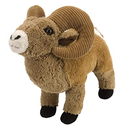 Wild Republic Bighorn Sheep Plush, Stuffed Animal, Plush Toy, Gifts for Kids, Cuddlekins 12 Inches: Toys & Games