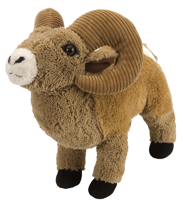 Amazon Com Wild Republic Bighorn Sheep Plush Stuffed Animal Plush