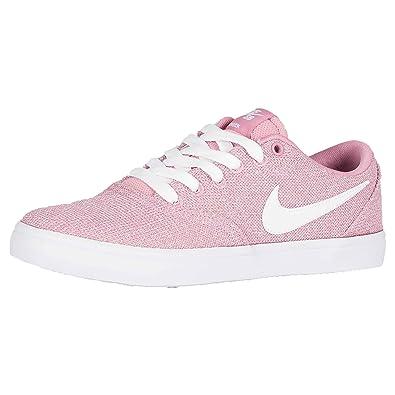 be506a1b3f8f0b Nike SB  Check Solar  Women s. Elemental Pink White Black.  Amazon ...