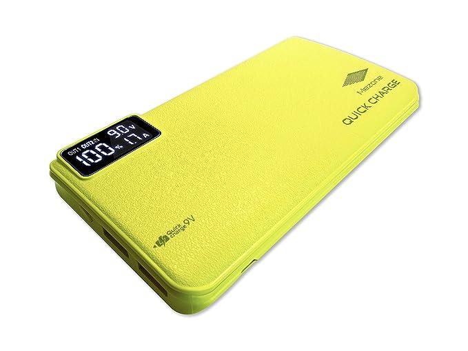 Amazon.com: 10,000mAh Quick Charge 3.0 Cargador Portable ...