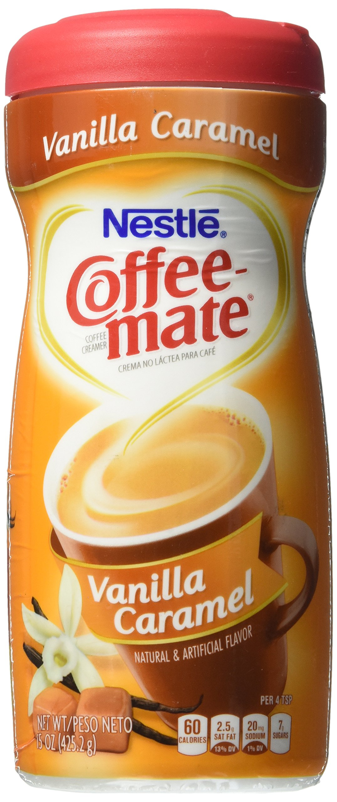 Coffee-mate Powdered Coffee Creamer - Vanilla Caramel - 15 oz by Coffee-mate