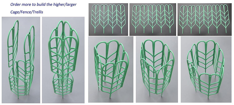 Rankgitter für Topfpflanzen, Unterstützung, 3er Pack, Tomate- Käfig ...