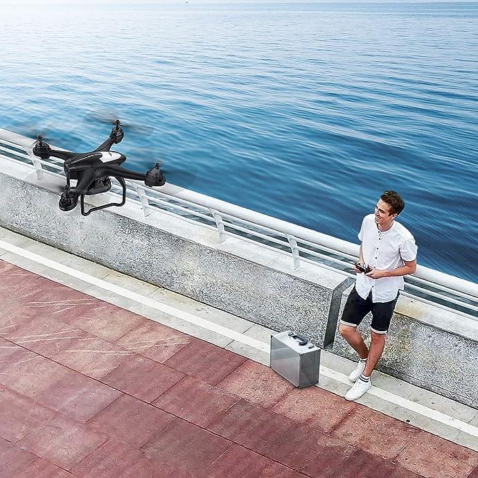 Potensic T18 1080P高清 双GPS 无人机 四轴飞行器 优惠券折后$149.99秒杀 海淘转运到手约¥1212
