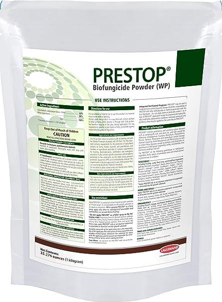 Amazon.com: PresTop biofungicide orgánicos 100 g/3.5oz el ...