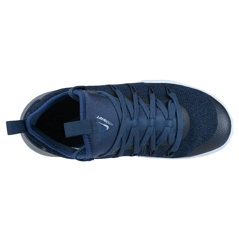 952b9dba3859 ... order amazon nike mens hypershift basketball shoes squadron blue  metallic silver basketball 432f7 ee640
