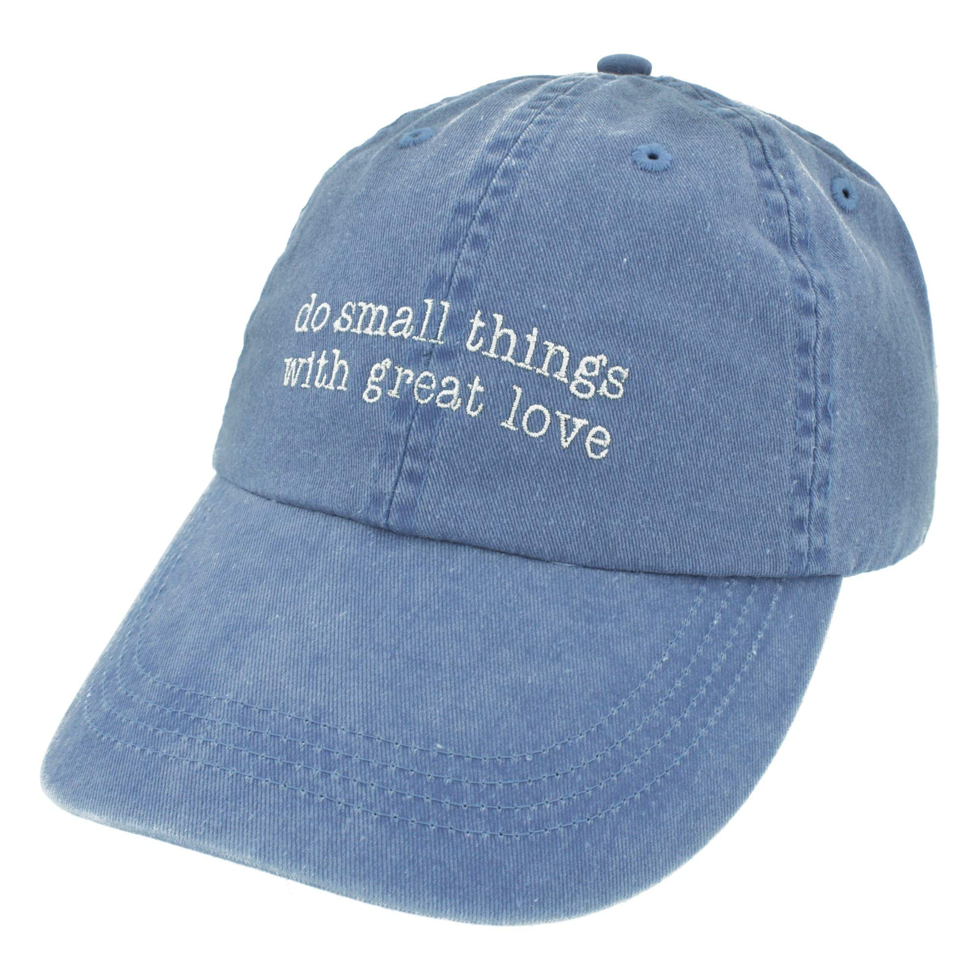Mother Teresa Do Small Things with Great Love Ball Cap Adjustable Embroidered Hat Baseball