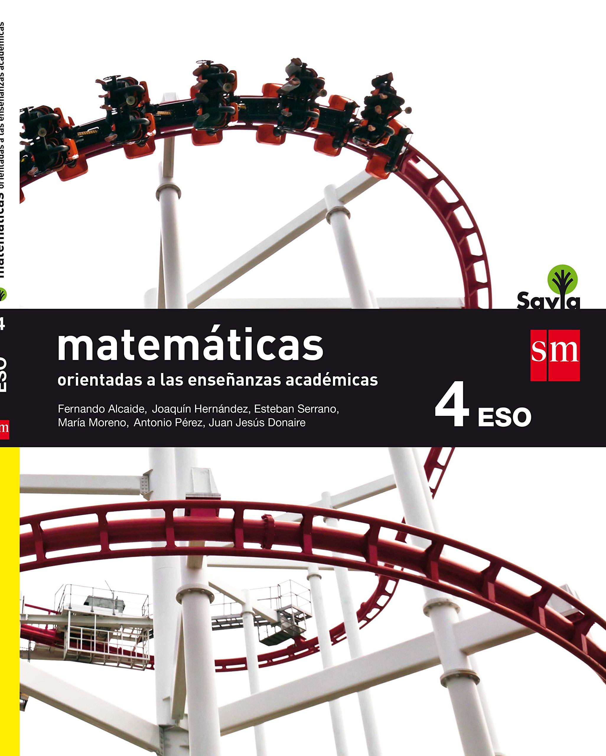 Matemáticas orientadas a las enseñanzas académicas : 4 ESO ...