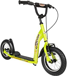 Bikestar 12 inch (30.5cm) Kids Kick Scooter Green