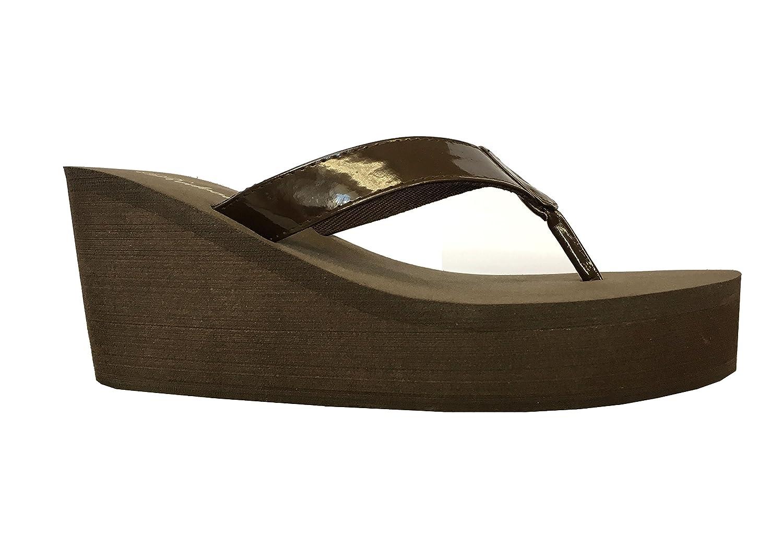 1684cae306 Amazon.com | REDVOLUTION Women's Platforms Wedge T-Strap Fashion Sandals  Casual Flip Flop |1098 | Flip-Flops
