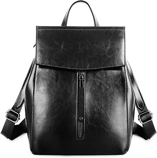 Genuine Leather Back Pack Rucksack Travel Bag New Men/'s High Quality Large JSV