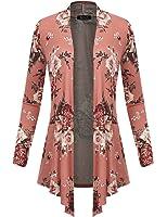 LookbookStore Women's 3D Mesh Lace Rose Floral Long Sleeve