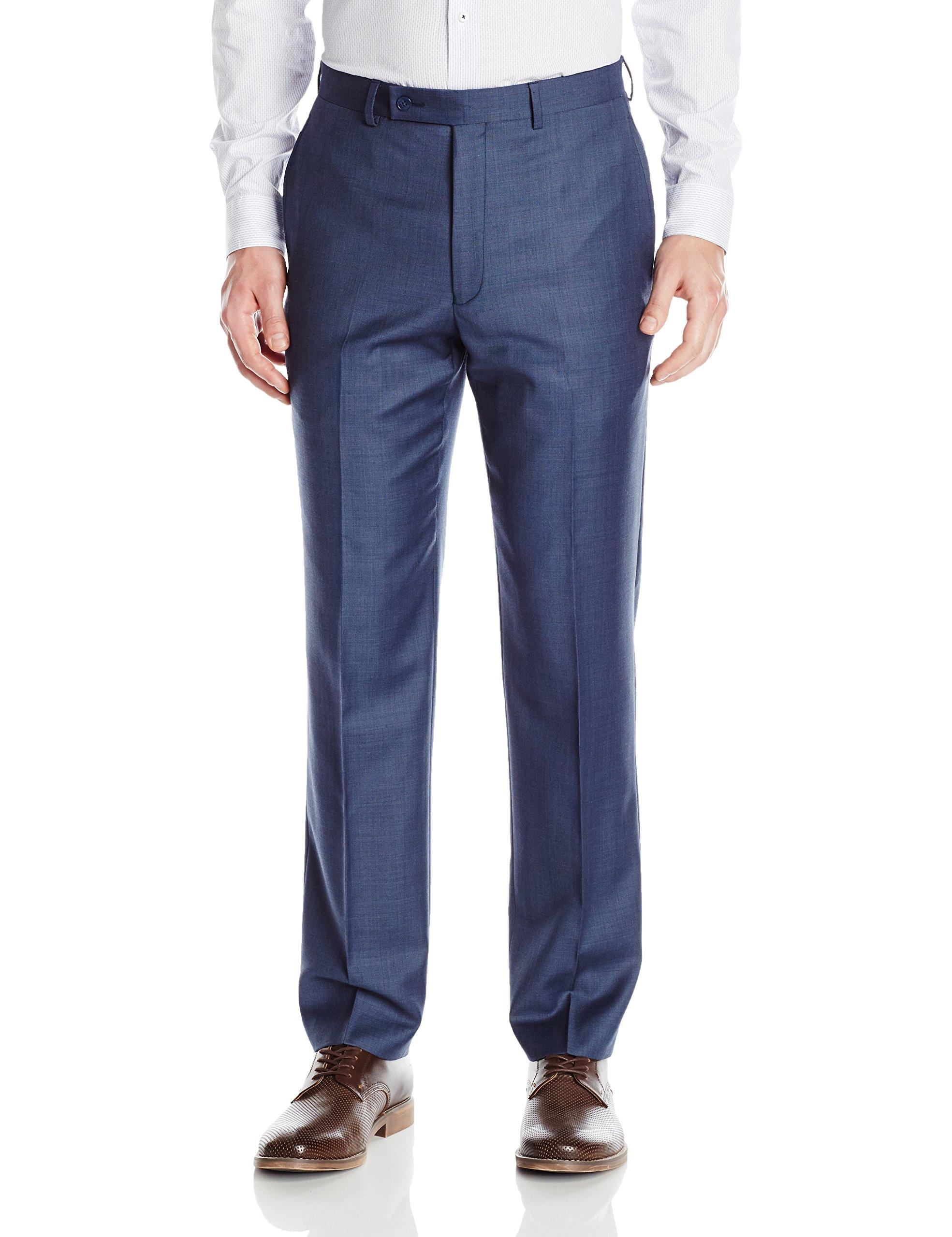 Calvin Klein Men's Modern Fit Suit Separate (Blazer and Pant), Blue Pant, 36 X 32