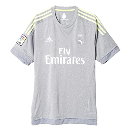 9a3229aef Amazon.com   adidas Real Madrid CF Away Jersey-Grey   Clothing