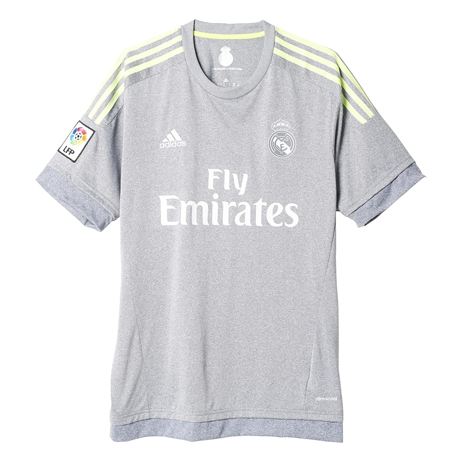 Adidas Mens Real Madrid Awayレプリカサッカージャージー B00ZRZ01NE XL