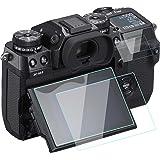 Komet Fujifilm X-H1/XH1 proteggi schermo 9H Durezza antigraffio anti-impronta digitale vetro temperato per Fujifilm X-H1 a cristalli liquidi + schermo Spalla (4 Pack)