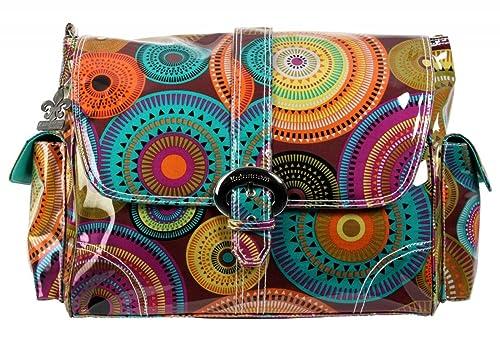 Kalencom - Bolso de tela para mujer multicolor multicolor ...