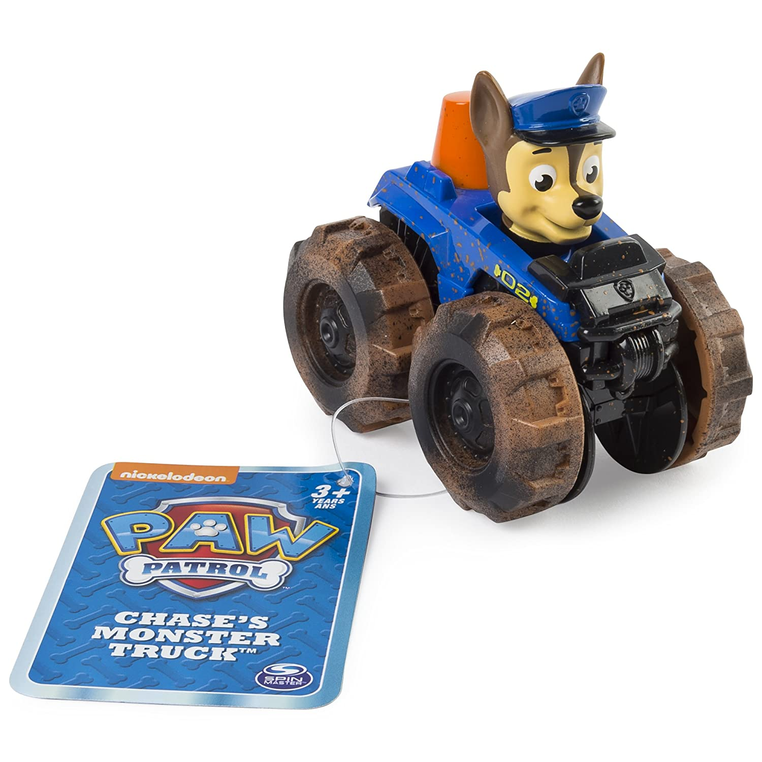 Amazon.com: Paw Patrol – Rescue Racer – Chases Monster Truck: Toys & Games