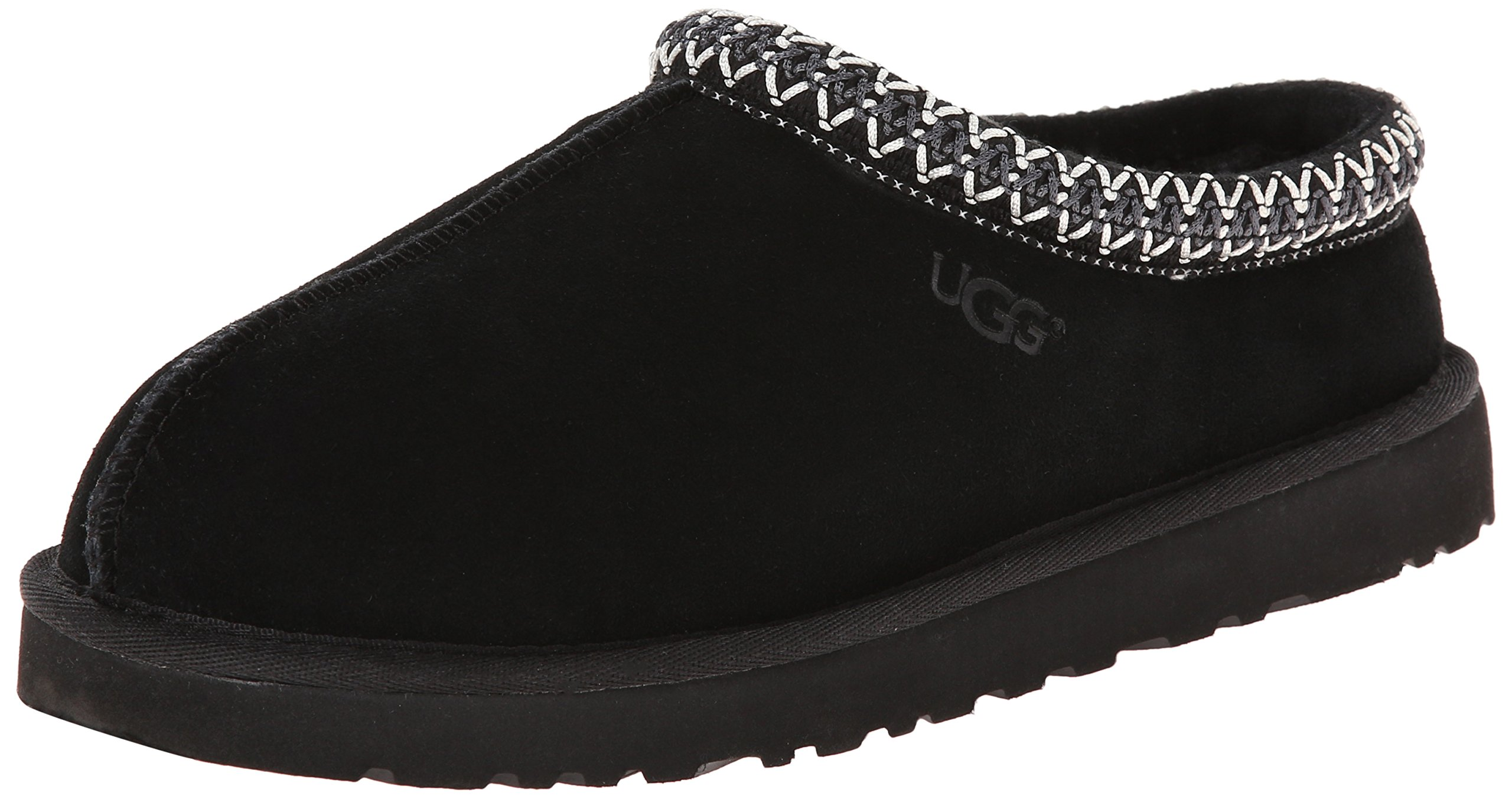 UGG Women's Tasman Slipper, Black, 8 US/8 B US