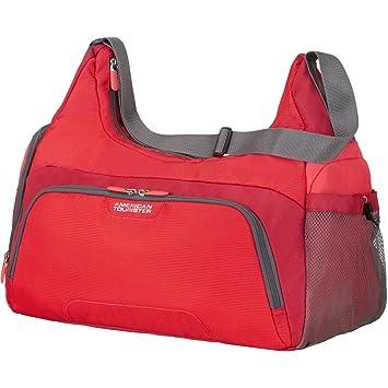 American Tourister Road Quest Sac de Sport pour Femme Cabas de Fitness, 48 cm, 32 L, Rouge Solide