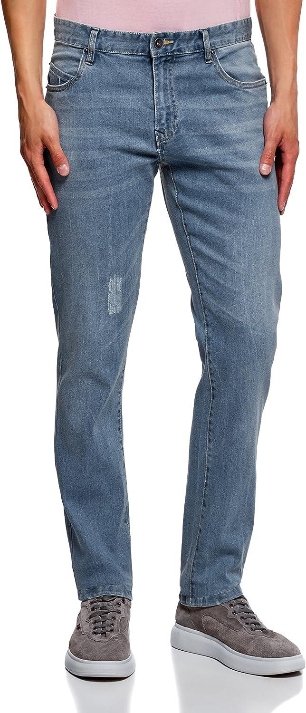 oodji Ultra Donna Gilet in Jeans