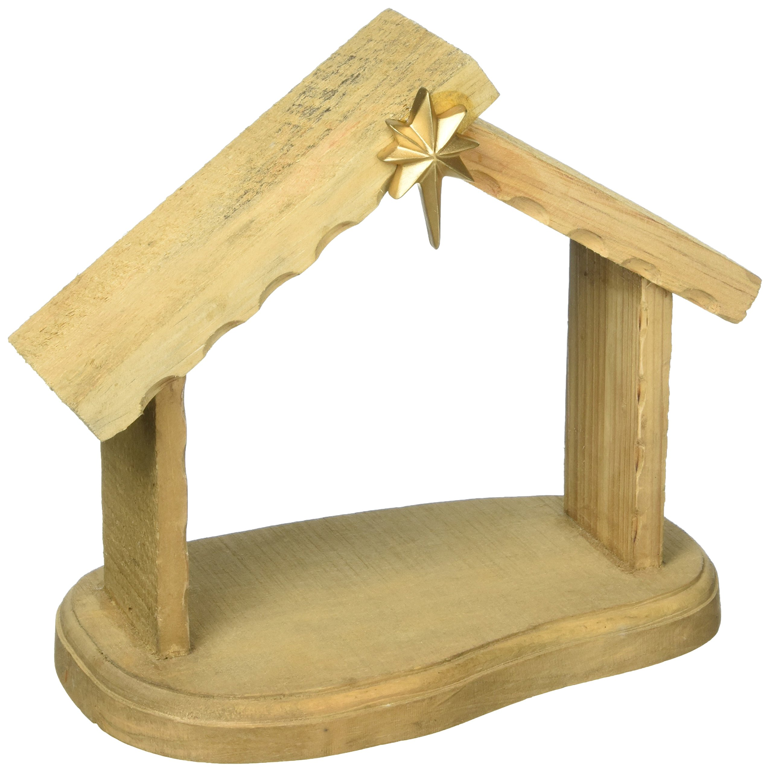 Precious Moments Christmas Gifts ''Mini Creche'' Nativity Scene Wood Creche 131402